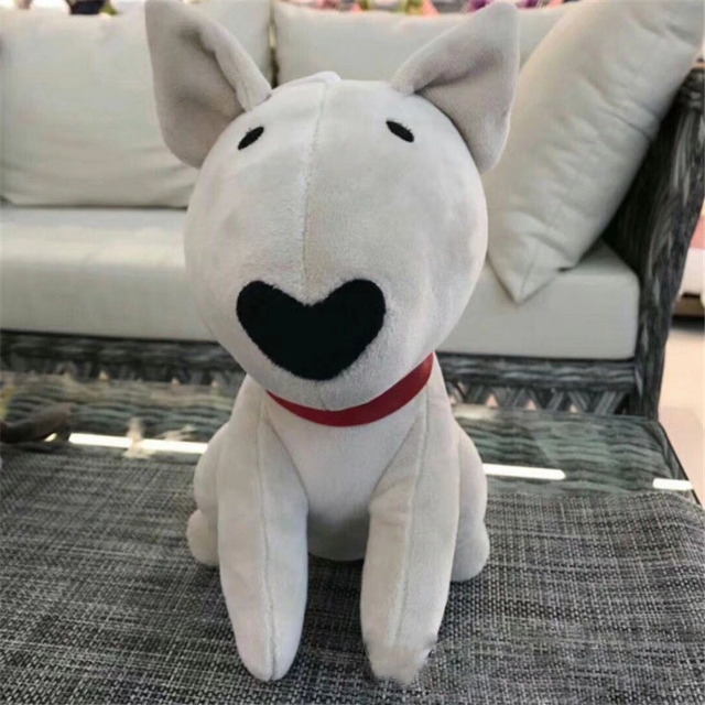 bull terrier dog toy birthday gift for girlfriend cute plushies kawaii present novelty birthday gift bull terrier plush toy doll