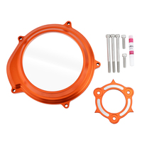 Transparent Clutch Cover Guard for KTM 1290 Superduke GT R 1090 1050 1190 Adventure R LC8 Engine Clutch Protector Protection