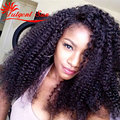 Afro Kinky Curly Hair Unprocessed Mongolian Kinky Curly Virgin Hair Weaves 100g Human Brazilian Kinky Curly Virgin Hair 3pcs