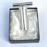 Aluminium pyłku stopki sprężarki naciśnij Spice młynek do ziół młynki do tytoniu z pudełko rozdrabniacz akcesoria w Akcesoria do papierosów od Dom i ogród na