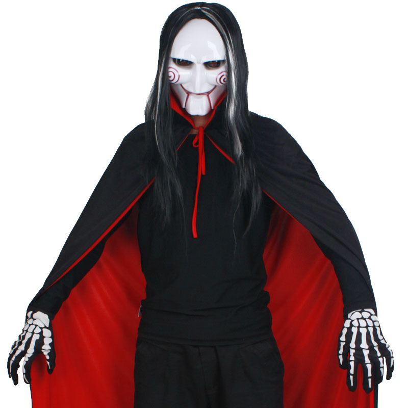 Masquerade halloween clothes male black and red cloak gloves on Aliexpress.com | Alibaba Group  sc 1 st  AliExpress.com & Masquerade halloween clothes male black and red cloak gloves on ...
