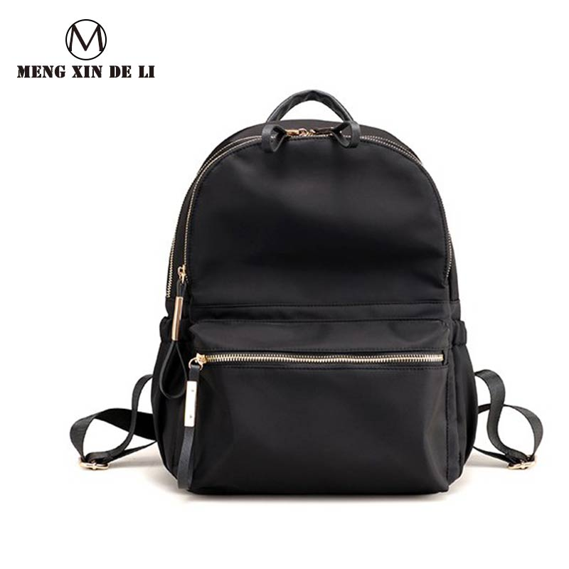 MENGXINDELI Women Oxford Bakcpack Student High-capacity Zipper School Bag Female Fashion Traveling Softback Soft Backpack ...