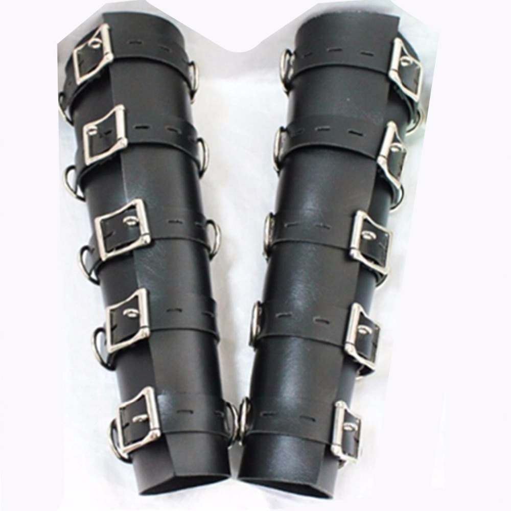 Bdsm PVC Leather Hand Arm Cuffs Bondage Slave Restraints Belt Lockable In Adult Games,Fetish Sex Flirting Toys For Men And Women