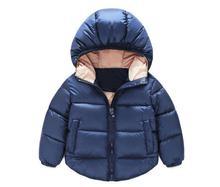 2016 Новый Мальчик Куртка Дети Верхняя Одежда Пальто Мода Мальчик Пальто Девочка Куртка Теплая С Капюшоном Детская Одежда Детская Одежда