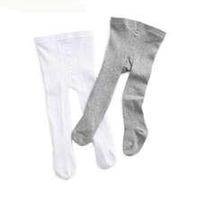 0-2y Baby Infant Girl/Boy Knitted cotton warm Tights solid color  children Pantyhose baby fashion stocking