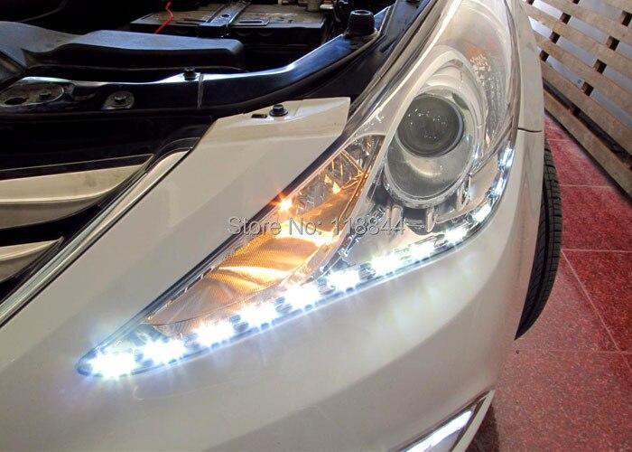 2Pcs Λευκό + Κίτρινο 8W Διακόπτης - Φώτα αυτοκινήτων - Φωτογραφία 3