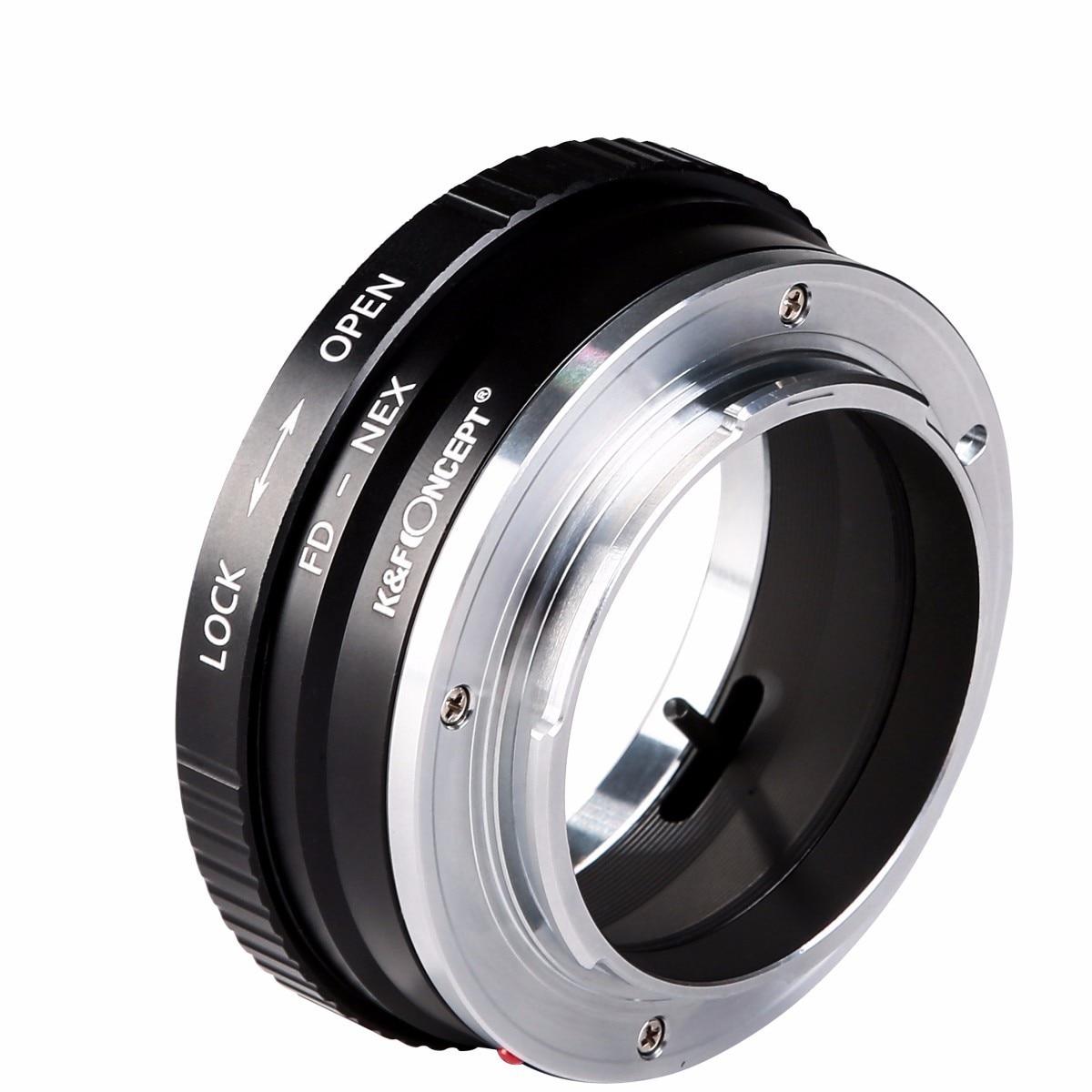 K & F koncept Alt-kobber interface høj præcision objektiv adapter - Kamera og foto - Foto 3