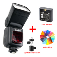Godox Ving V860 II V860II Speedlite Li ion Battery Fast HSS Flash For Sony A7 A7S A7R for Nikon Canon for Olympus Fuji