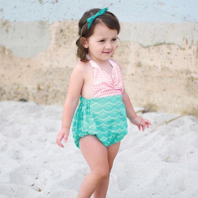 f4a1e887ea Low Price Loss Sale 2018 Infant Kids Baby Girls Swimwear Straps Sequins Swimsuit  Bathing Bikini Outfits