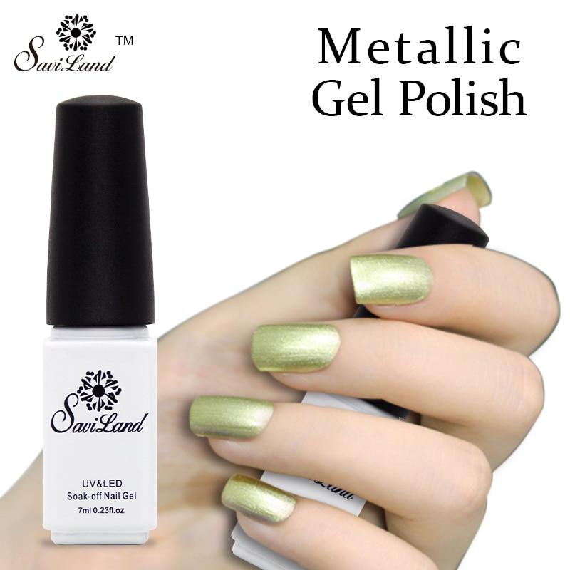 Gold Gel Nail Polish: Popular Metallic Gel Nails-Buy Cheap Metallic Gel Nails