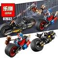 LEPIN DC Super Heroes Figuras Deadshot Harley Quinn Figura de Batman Batmobile Building Blocks Ladrillos marvel Juguetes