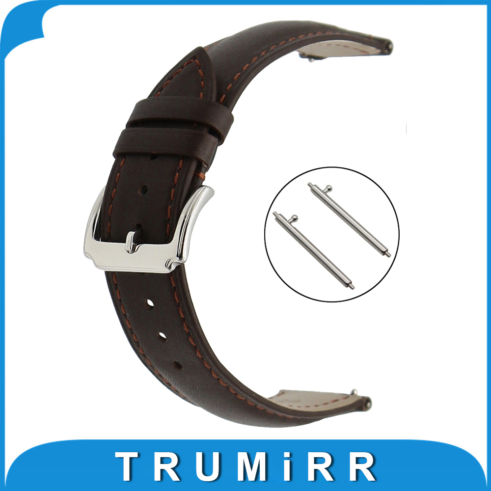 18mm 20mm 22mm First Layer Genuine Leather Watch Band Quick Release Strap for Hamilton Wrist Belt Bracelet Black Brown first layer genuine leather watchband 20mm 22mm for iwc watch stainless buckle strap quick release band wrist belt bracelet