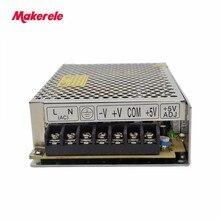 Triple Switching Power Supply T-60B 5V 12V -12V Aluminum Led Driver 3 Modes  Converter Power Adapter servo driver for mr j2s 60b