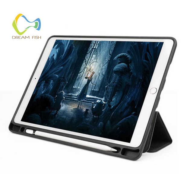 Ipad Pro 12.9 Case with Pencil Holder Smart Flip Case 1