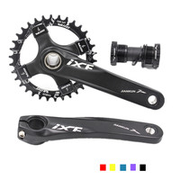 IXF BCD104mm CNC bike crankset MTB bike crank with Bottom Bracket Mountain Bicycle Crank mountain bike parts