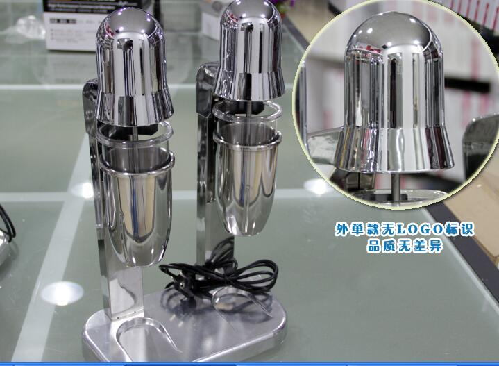 Commercial automatic sensor cup stainless steel double-headed milkshake machine stirring cooking machine  цены