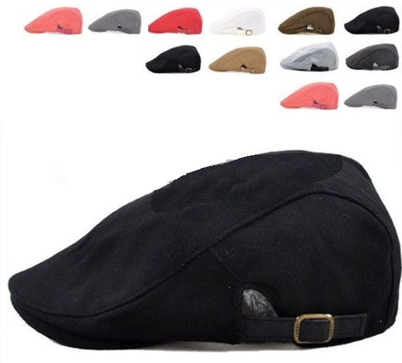 2015 Time-limited Freeshipping Adult Solid free Ivy Caps Golf Caps for New  Boy Driving Cabbie Newsboy Flat Cap Hat - Many Colors 7c55e34be26