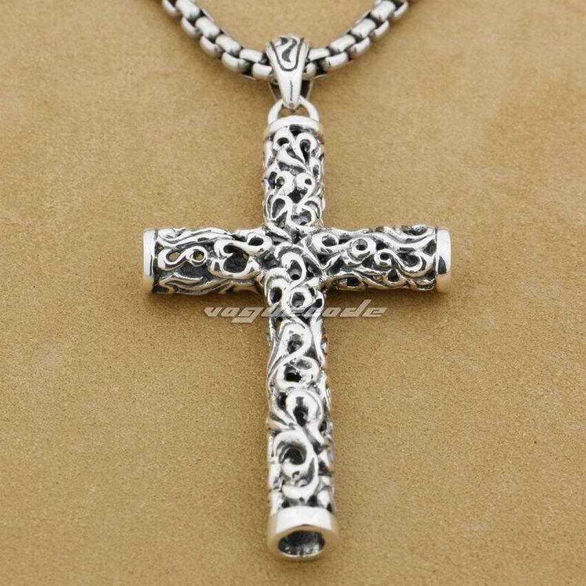 ПРОДАЖ !! LINSION Циліндр хрест 925 проби - Модні прикраси - фото 2