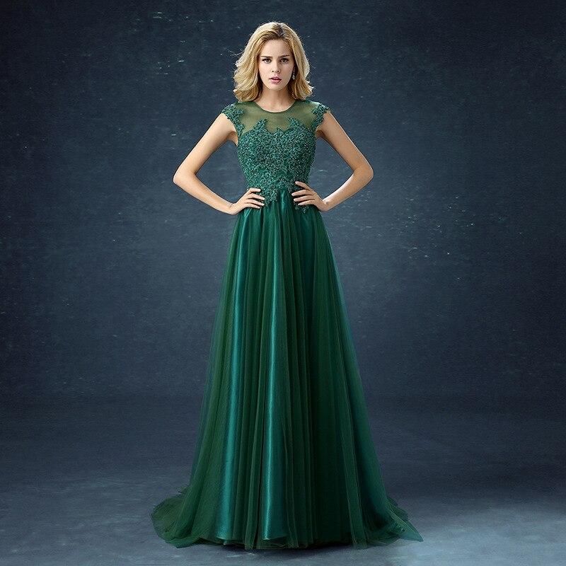 9fe554bf3bbf € 54.29 9% de DESCUENTO QQC292 # verde largo vestido de noche rojo vino con  cola corta vestidos de fiesta de boda 2019 vestido de graduación moda ...