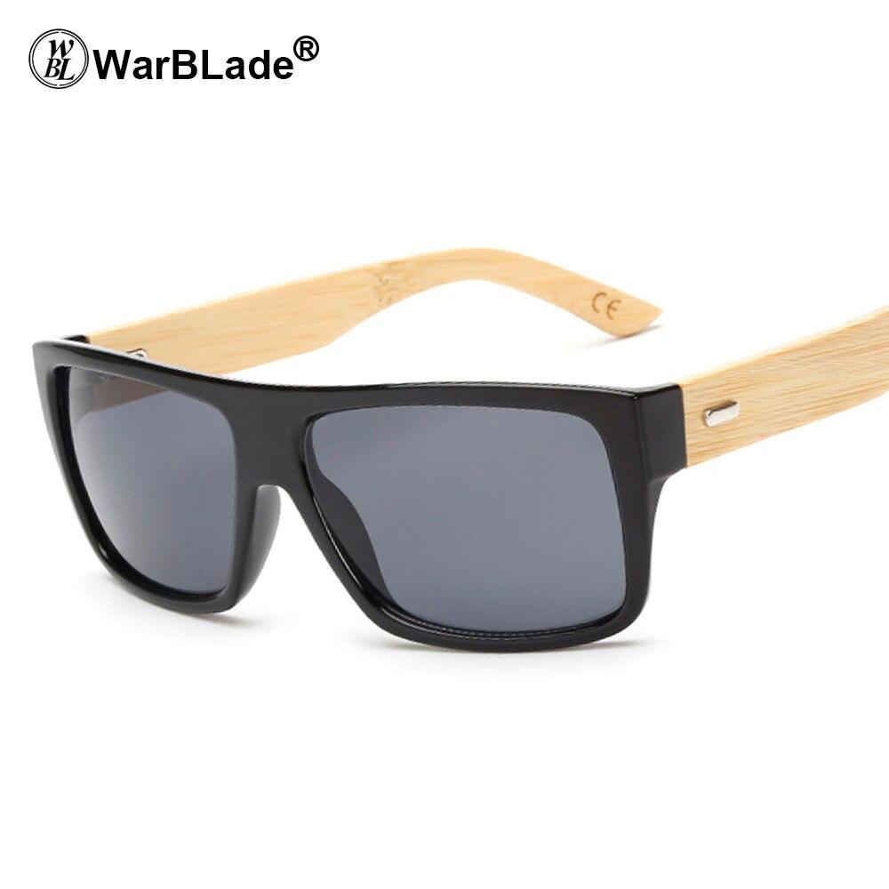 b79da50c578c9 Custom Logo Bamboo Arms Sunglasses Men Natural Wooden Sun Glasses Outdoor  Fishing Driving Sport Goggles Bambu Oculos 50PCS