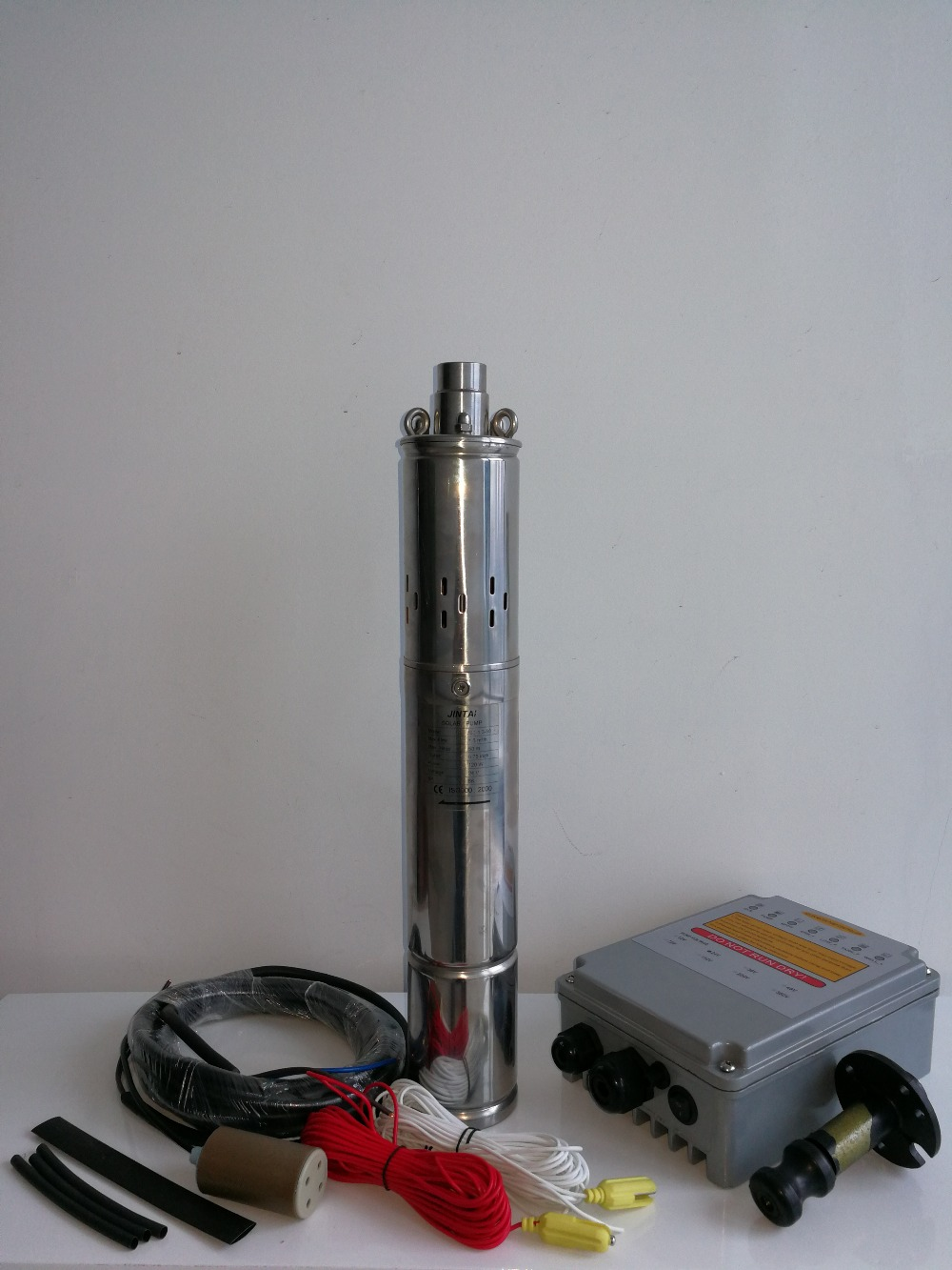 5 anos de garantia DC movido a energia solar bombas de água, kit solar para casa, 24 V bomba submersível, frete grátis, modelo: JS3-1.3-50