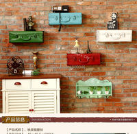 New Fashion Iron Box for Wall Decor Wall sticker iron wall mural wall decoration home decoration for Coffee Shop Bar