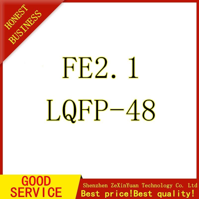 10PCS USB2.0 HUB USB Interface P FE2.1 QFP48 New Original
