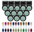 5pcs Granulated Sugar UV Gel Nail Polish soak off Cute Package for Nail Art Decoration Manicure Makeup