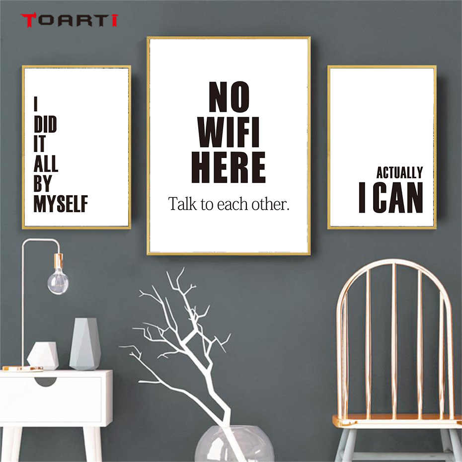 Motivational Modern Quotes Prints Posters Inspirational Life