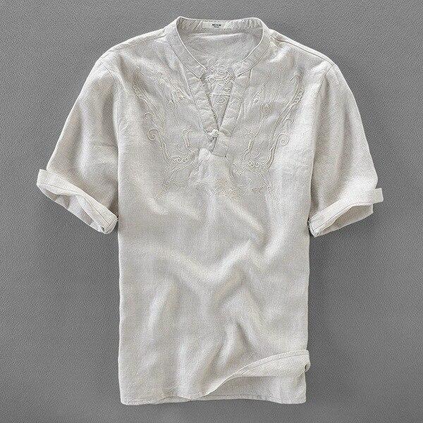 koszule męskie lniane sportowe duże rozmiary