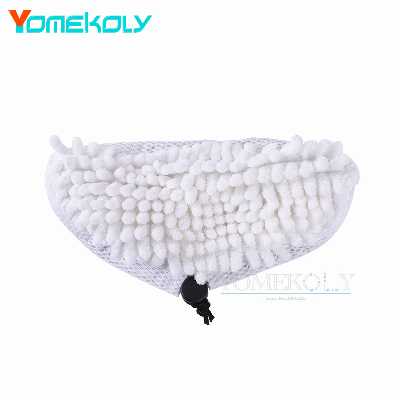 Microfiber Steam Mop Pad Replacement Dust Cleaning Pads for For Shark S2 S2S S2ST S3S S7 Steam Mop Cloth 4 pcs white microfibre steam mop cleaning floor washable replacement pads compatible for x5 h20 series dust cleaner part
