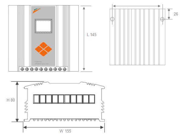Painel solar controlador de carregamento e sistema