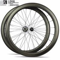 hot sale 700c dimple surface carbon wheelset light weight dimple carbon wheels 50mm carbon clincher road bike wheels
