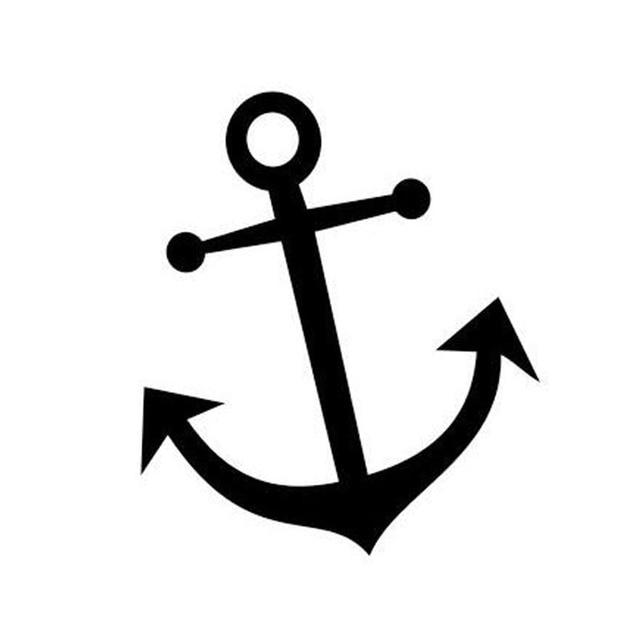 12 5 15cm anchor car sticker decals nautical navy ocean coupon clip art images coupon clip art template free