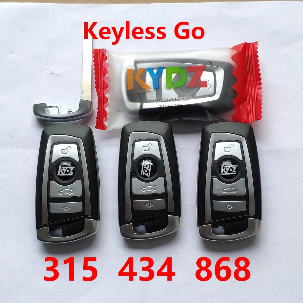 For BMW CAS4 F Series -315 434 868 Mhz 4 Buttons Smart Remote Key With Proximity Top Quality