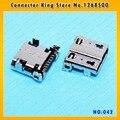 CK 10 шт./лот для Samsung Galaxy SIV S4 i9505 i337 I545 M919 i9500 Зарядки Порт Micro USB Разъем USB Разъем Частей, MC-042