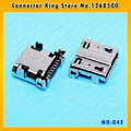 CK  10pcs/lot for Samsung Galaxy SIV S4 i9505 i337 I545 M919 i9500 Charging Port Micro USB Connector USB Socket Parts,MC-042