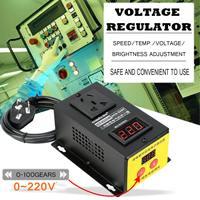 AC 220 V 10000 W SCR Электронный регулятор напряжения светодиодный регулятор температуры регулятор света термостат