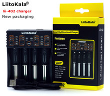 Liitokala lii-402 Lii-202 Lii-100 Lii-S1 charger can be charged 1.2V 3.7V AA/AAA 26650 18650 16340 lithium battery smart charger