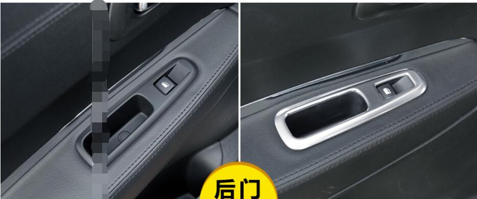 Hearty Lapetus Inner Door Armrest Window Switch Control Panel Decoration Frame Cover Trim 4 Pcs For Cadillac Xt5 2016-2019 Plastic Interior Mouldings