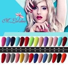 #057084 UV nail gel Sapphire Gel M.ladea Gel Polish 8.3ml Color Bottle Soak Off Nail Gel Polish Lasting 140 Brilliant Color