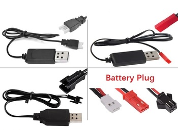 Free Shipping 3.7V battery USB Charger Cable SM JST MX2.0-2P For R/C Racing Car Toys Quadcopter Heli