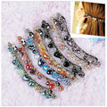 Womens Korean Fashion Crystal Rhinestone Barrette Hairpin Hair Clip Accessories hair accessories 7 styles