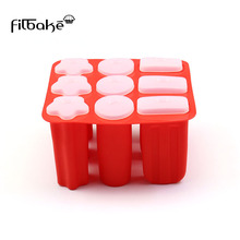 FILBAKE cake decorating tools home diy red ice cream molds brand new and high quanlity kitchen accessories silicone mould