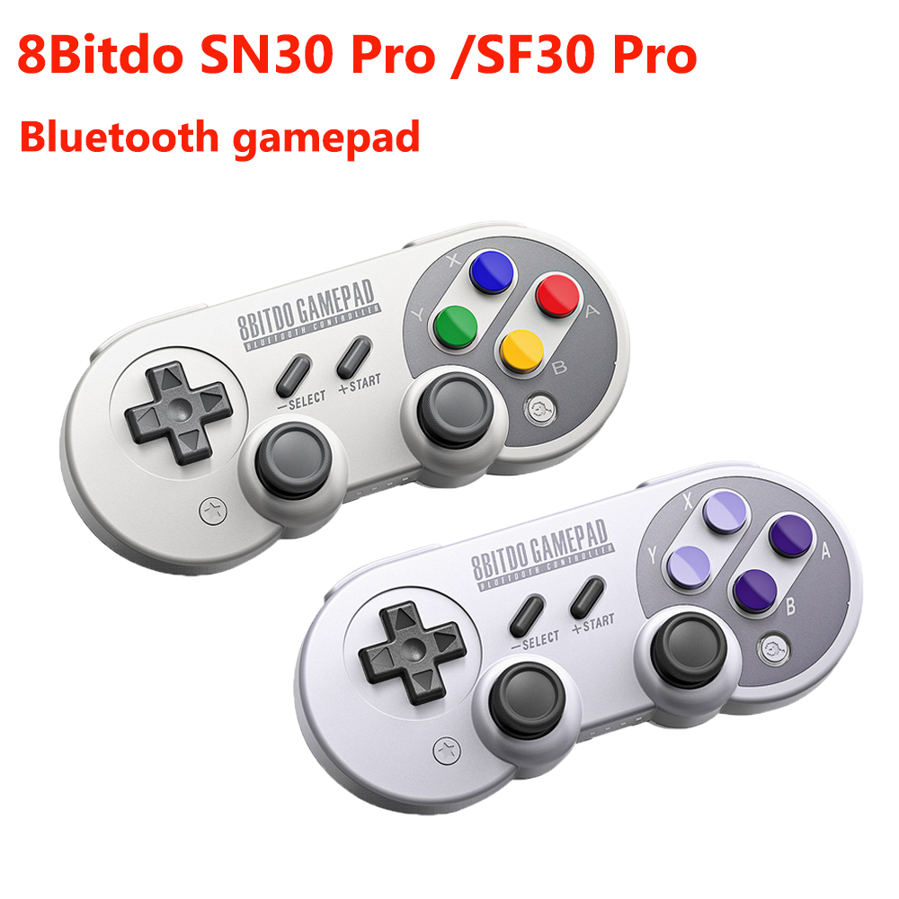 8Bitdo SN30 Pro SF30 ProGamepad for Nintendo Switch macOS Android Controller Joystick Wireless Bluetooth Game Controller