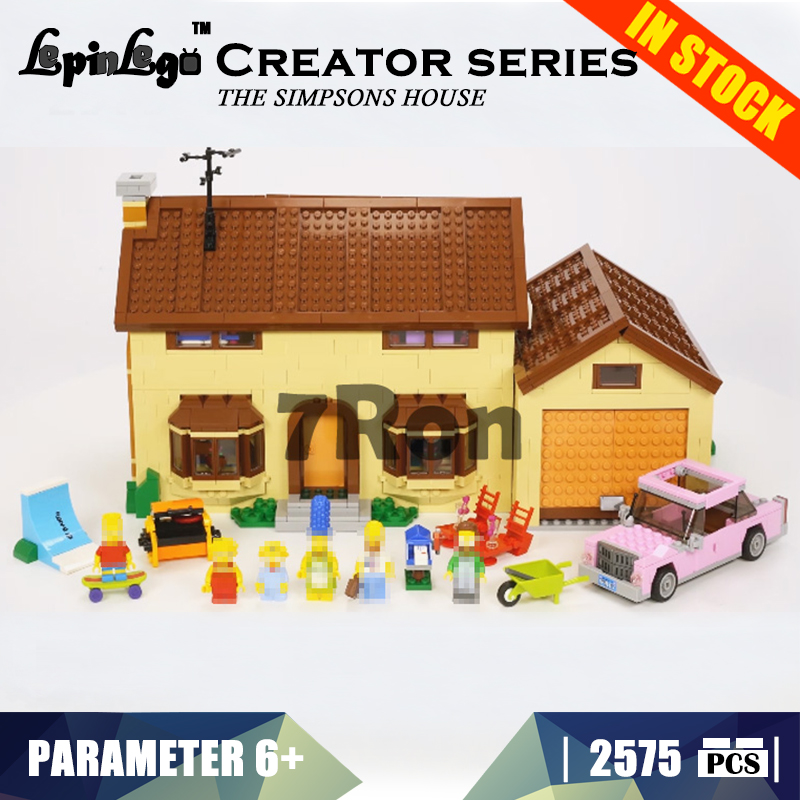 Model building toys hobbies The Simpsons House 16005 Compatible With lego Creator series 71006 Educational DIY children gifts