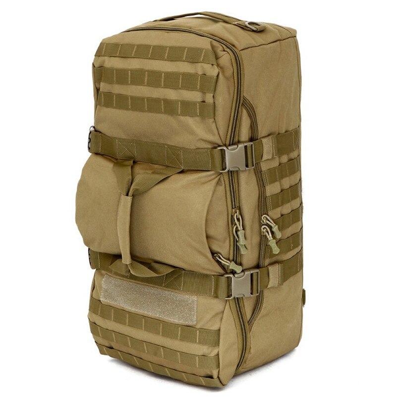 60L Camping en plein air grande capacité sacs à dos tactique militaire sac à bandoulière randonnée escalade étanche 1000D Nylon sacs de voyage
