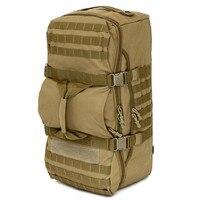 60L Outdoor Camping Large Capacity Backpacks Tactical Military Shoulder Bag Hiking Climbing Waterproof 1000D Nylon Travel Bags