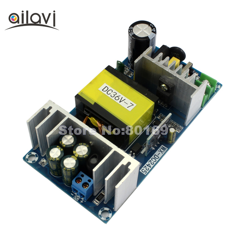 250W High Power Converter AC220 to DC36V 7A AC-DC Switching Power Supply Module Bare Board цена