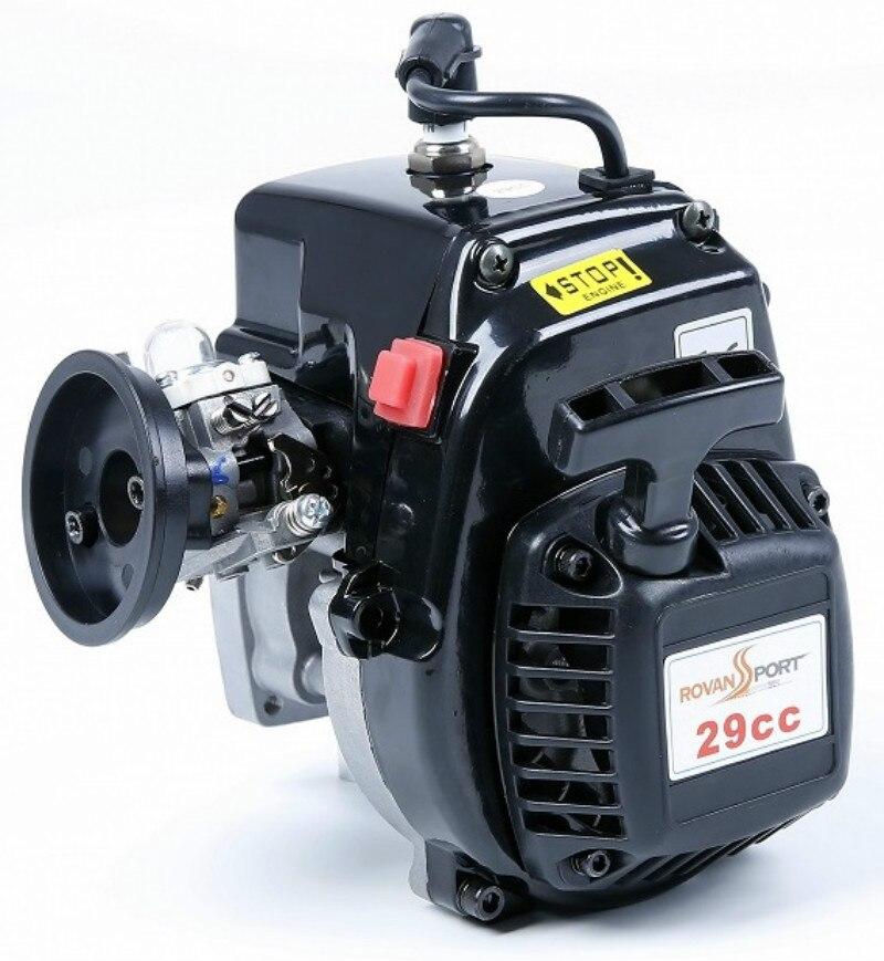 Rovan Rofan Baja 4 boulons 29cc moteurs à essence pour 1/5 HPI Rovan KM Baja 5B 5 T 5SC LOSI 5 T DBXL FG Buggy voiture Rc Redcat